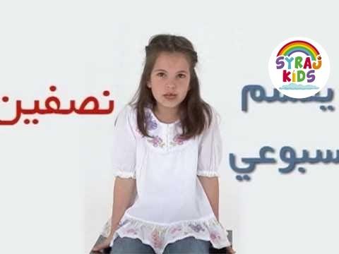 Arabische Wochentage