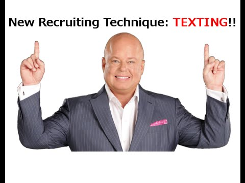 re: Eric Worre on the New Recruiting Technique: Texting