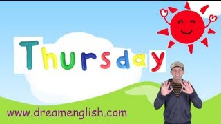 Thursday Song For Kids, Days of the Week Songs