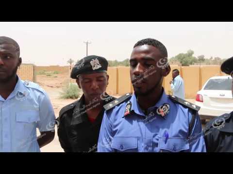 وقفة احتجاجية لخريجي مركز تدريب الشرطة بغات