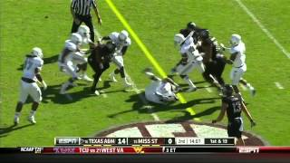 Ryan Swope vs Auburn & Mississippi State (2012)