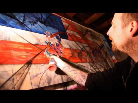 "Video | ""The American Graffiti Artist"""