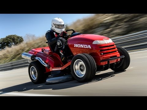 cortadora - Una cortadora de césped Honda, con un motor de 1 litro y 109 HP, logró un récord mundial Guinness al alcanzar los 188 km/h. El conductor fue Piers Ward, de T...