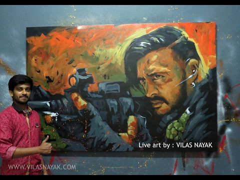 Video Hebbuli Art by Vilas Nayak download in MP3, 3GP, MP4, WEBM, AVI, FLV January 2017