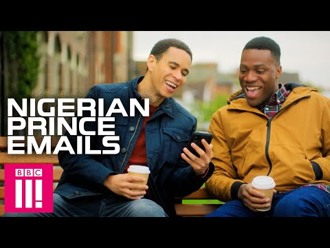 Nigerian Prince Emails With Good News: Famalam