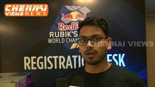 Red Bull Rubik's Cube World Championship Chennai Qualifiers