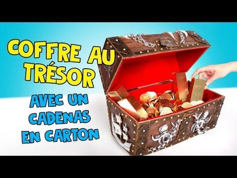 Comment fabriquer un coffre aux trésors à partir de carton ! 🗝
