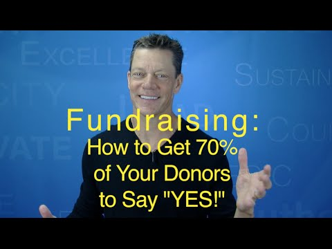 "Fundraising Asks: How to Get 70% of Donors to say ""Yes!"" (Tom Iselin)"