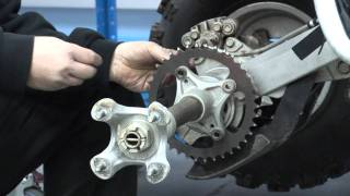 6. Chain and Sprocket change over on a DS450X MX.wmv