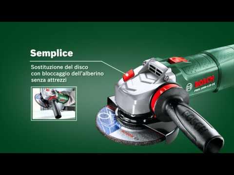 Smerigliatrice angolare Bosch PWS 1000-125