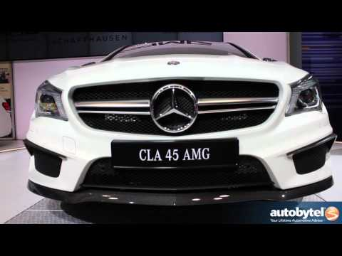 2014 Mercedes-Benz CLA 45 AMG At The 2013 New York Auto Show