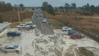 """Video Storm Surge - High Tide - Ocean Park, Wa Beach Approach """"Cars Scrambling"""" Today 1-18-2018 MP3, 3GP, MP4, WEBM, AVI, FLV September 2018"""