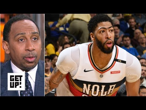 Video: Stephen A. applauds Anthony Davis for playing despite not being traded | Get Up!