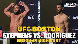 UFC on ESPN 6: Jeremy Stephens, Yair Rodriguez Make Weight - MMA Fighting by MMA Fighting