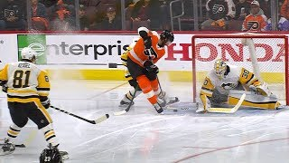 Sean Couturier pulls off amazing deke for dazzling goal by NHL