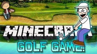 Minecraft: Golf Mini-Game Map! w/Mitch&Jerome! (Ender Pearl Mini-Game Mod)