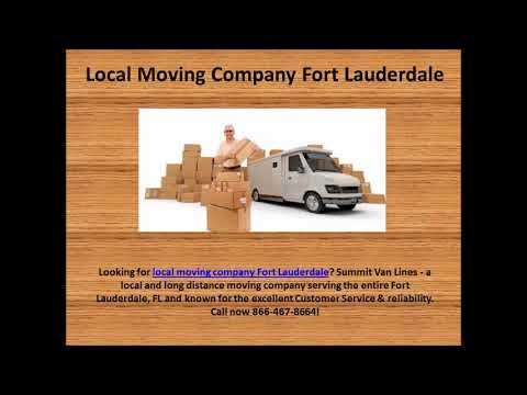 Moving Services Fort Lauderdale