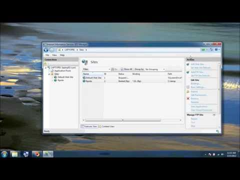 how to enable ftp in windows 7
