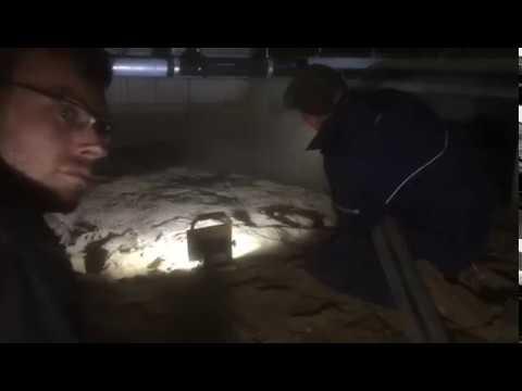 Zandbed onder de vloer herstellen