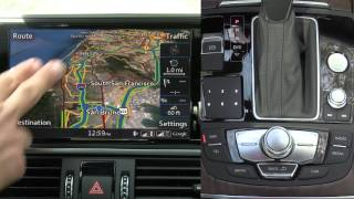 2016 Audi MMI Review in the 2016 Audi A6 Video