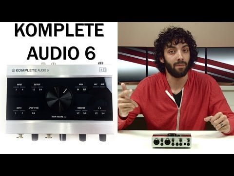 Best Audio Interface? (under $250) - Komplete Audio 6 Review