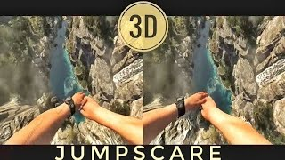 🔴 VR Acrophobia? 3D Jump from Mountain VR Google Cardboard VR Box 360 Virtual Reality Video 3D SBS