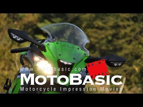カワサキZX-10R バイク試乗レビュー Kawasaki Ninja ZX-10R ABS (2012) TEST & REVIEW