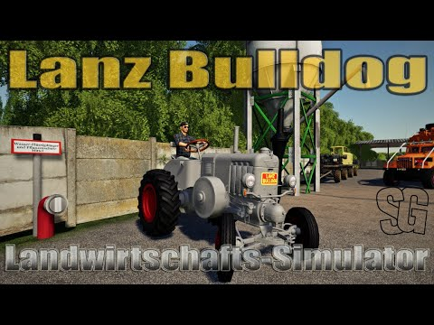 Lanz Bulldog Grey v1.0.0.0