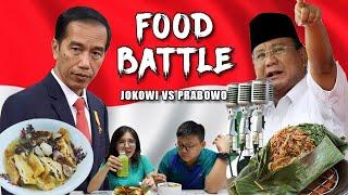 Video JOKOWI Vs PRABOWO - CAPRES FOOD BATTLE MP3, 3GP, MP4, WEBM, AVI, FLV April 2019