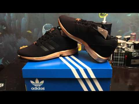 adidas original zx flux black and copper