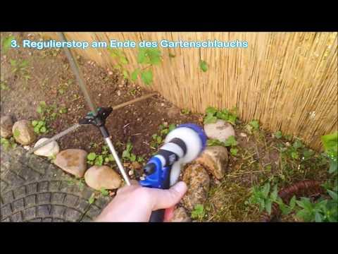 MeineProjekte - Von der Badewanne zur Gartendusche Teil 2