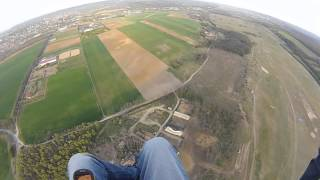 Godollo Hungary  City new picture : Paragliding Hungary Gödöllő 2015.04.22. Reptér ;)