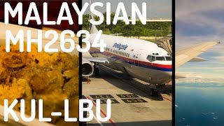 Labuan Malaysia  city pictures gallery : Malaysia Airlines MH2634 : Flying from Kuala Lumpur to Labuan