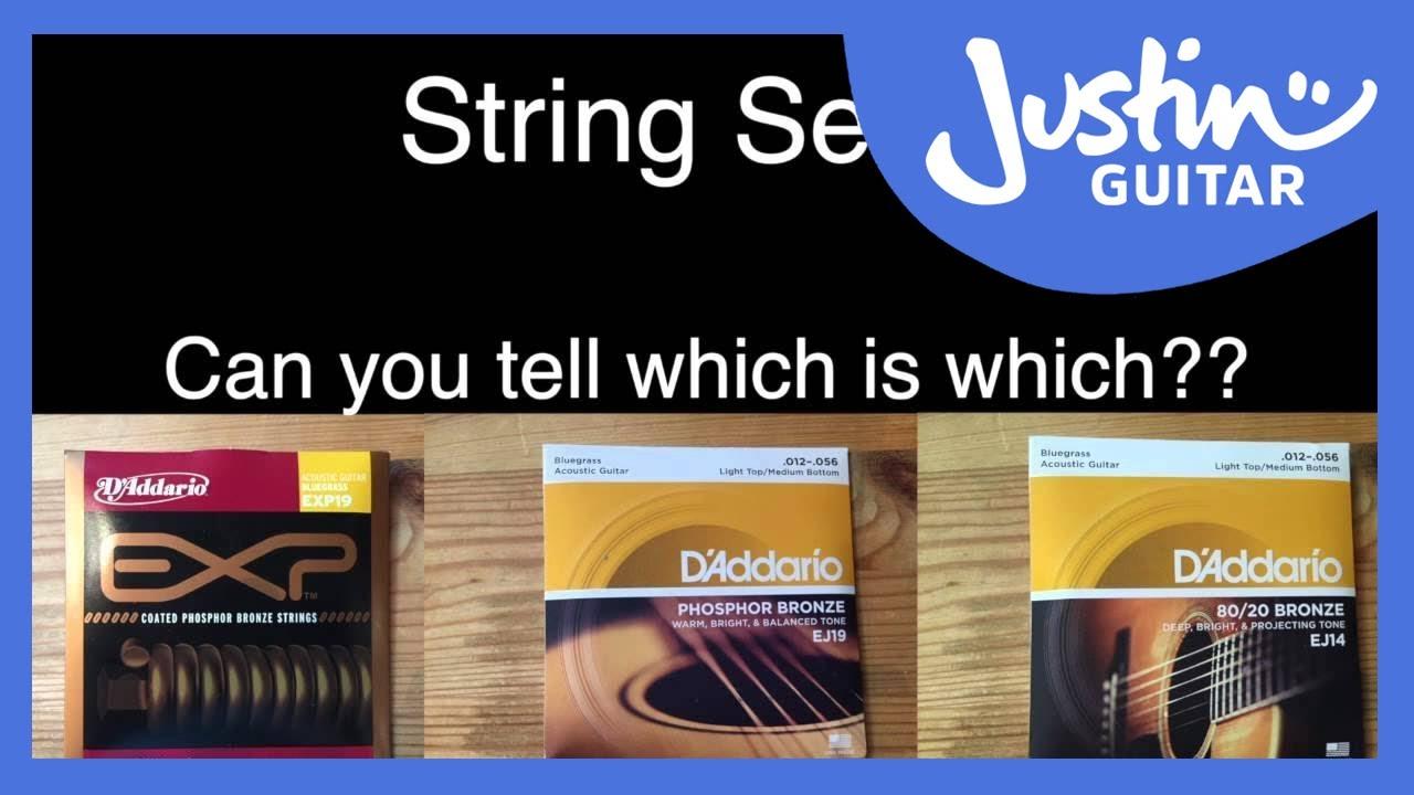 Acoustic Guitar String Shootout – Coated vs Phosphor Bronze vs 80/20 – D'Addario