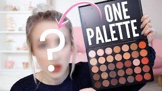 Video Full Face Using Only ONE PALETTE | Sophie Louise MP3, 3GP, MP4, WEBM, AVI, FLV Oktober 2018