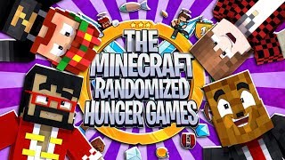 The Minecraft Randomized Hunger Games! #5 - 2VS2 Minecraft Modded Minigames | JeromeASF
