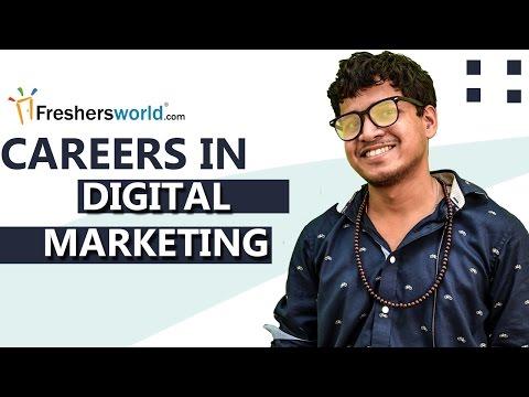 Careers in Digital Marketing - Job Prospects,Career Opportunities
