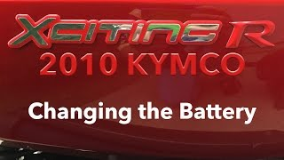 7. Xciting 500 Changing the Battery