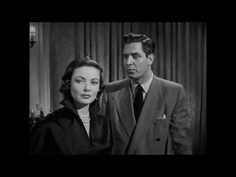 Where The Sidewalk Ends (1950)   Gene Tierney , Dana Andrews,   Neville Brand , *HD*