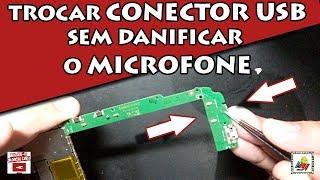 Atendendo a pedidos passo uma dica do precedimento que faço para trocar conectores de carga sem danificar os microfones.Download de Esquemas Elétricos: www.lemcell.com.br