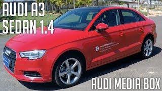 Avaliação: Audi A3 Sedan 1.4 com Audi Media Box