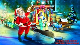 It's Christmas Eve! Play this time honored video for the kids....Merry Christmas from all of us