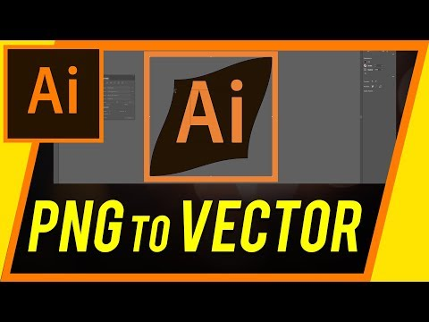 How To Convert A PNG To Vector With Illustrator