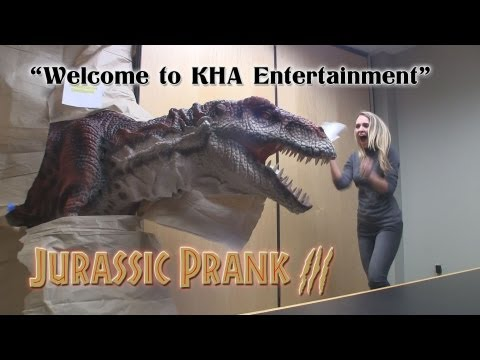 Welcome to KHA Entertainment: Jurassic Prank 3!