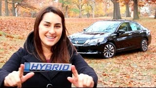 2014 HONDA ACCORD HYBRID REVIEW AND TEST DRIVE | HERB CHAMBERS HONDA