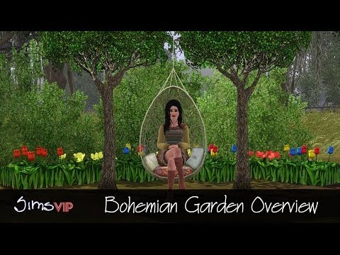 The Sims - Write-up & Screenshots: http://simsvip.com/2014/03/07/bohemian-garden-overview-video-screens/ Website: http://simsvip.com/ Twitter: https://twitter.com/SimsV...