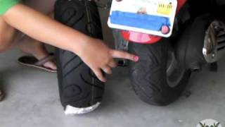 10. Vespa - Rear Tire Change (How to)