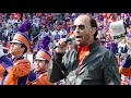 Lee Greenwood and Clemson Tiger Band