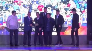 PSA President's Award given to Gilas Pilipinas