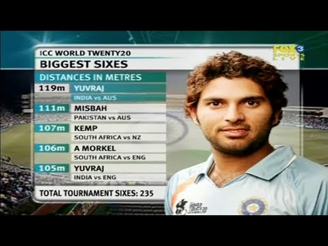 Yuvraj Singh 70 off 30 | Full Innings | T20 World Cup 2007 | Semi-Final | IND vs AUS Durban
